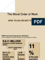 The Moral Order of Work
