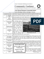 Winter 2006 The Community Gardener Newsletter