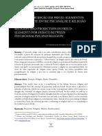 1 - Religião e Projeção em Freud, elementos para o debate entre psicanalise e religião - VELIQ