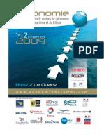 Synthese Economie de La Mer 2009