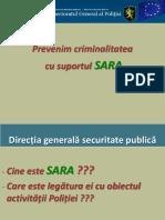 Prezentare SARA