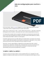 SSD_ o guia completo de configurações para você ter o máximo desempenho - TecMundo