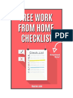 Work-From-Home-Checklist