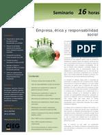 Empresa, ética y responsabilidad social