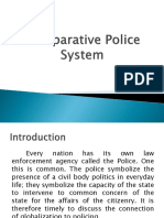 Comparative Police System presentation