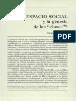 Bourdieu - Espacio_social_y_genesis de las clases