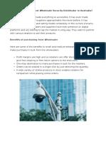 IP CCTV and IP Cameras   Elite Wholesalers