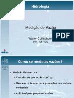 Aula 07 - Medicao de Vazao