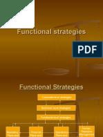 Funcational Strategies