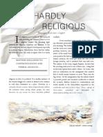 Hardly Religious
