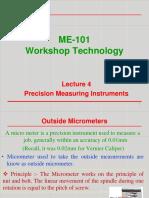 Lec 4 Precision Measuring Instrument