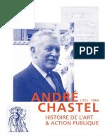 Andre Chastel Notes de Lecture Sur Panof