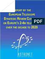 Telescopes in Europe