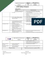 Vehicular Movement Job safety analysis (JSA).docx