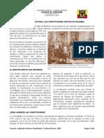 Las constituciones politicas en Colombia