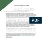 CRONOGRAMA ANUAL DE SIMULACROS