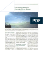 Chemtrail Suisse