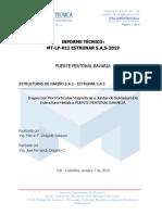 MT-LP-011 ESTRUNAR-2019  INFORME