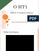 PPT Etika Komunikasi via telp ada form