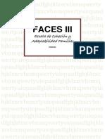 FACES III-MANUAL