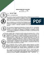 Directiva Entrega de Cargo MPT