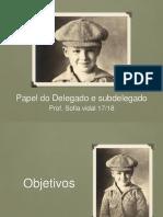 Papel do Delegado e subdelegado.pptx