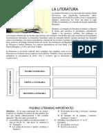 PREGUNTAS DE LITERATURA