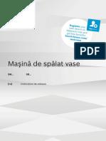 Manual Bosch SM