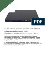Manual - OLT V1600D8