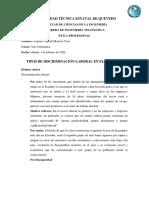 TIPOS DE DISCRIMINACIÓN LABORAL EN EL ECUADOR Jennifer Moreira.docx