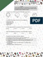 Matemática   6º ano   Teste 1