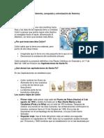 DESCUBRIMIENTO CONQUISTA Y COLONIZACION DE AMERICA