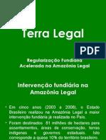 Prop Regularizacao Fundiaria Terra Legal