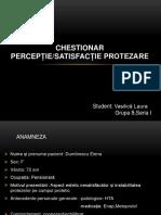 chestionar satisfactia protezarii