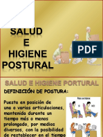 SALUD E HIGIENE POSTURAL