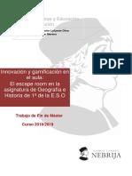 Innovación y gamificación en el aula