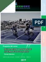 programa de curso Instalacion y montaje de sistemas fotovoltaicos 2019.pdf