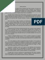 Reseña Histórica CTP San Pedro