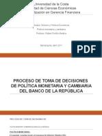 5. POLÍTICA MONETARIA Y CAMBIARIA