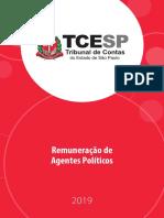 Remuneração de Agentes Políticos - TCE-SP