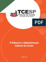 O Tribunal e a Administração Indireta do Estado - TCE-SP