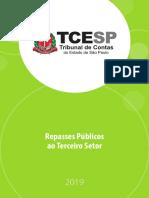 Repasses Públicos ao Terceiro Setor - TCE-SP