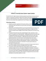 Upjohn sewer analysis 2015