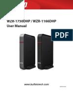 Buffalo WZR1750 Manual En