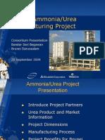 Urea Manufacturing Project