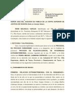 IMPUGNACIÓN DE  DECLARACIÓN DE PATERNIDAD.