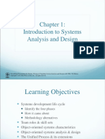 Introdution to System Analyst and Design