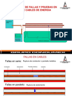 pruebas de campo y localizacion de fallas Condumex