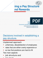 HRM_Lesson X_Establishing pay structure and Rewards.ppt