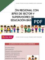 Presentación Regional 1era. Sesión Recrea (1)